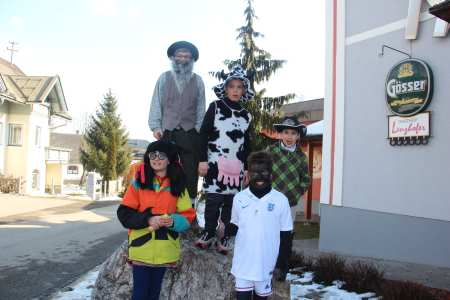 Fasching in Dellach